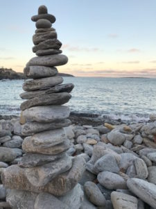 ThrivingAmbition.com | Focus How Slowing Down Can Make You More Productive | stone water maine pic