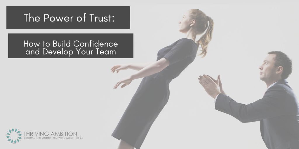 The Power of Trust: How to Build Confidence and Develop Your Team